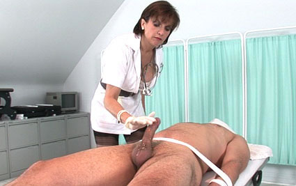 Cock milking nurse from Lady Sonia