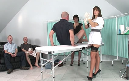 Handjob marathon from Lady Sonia