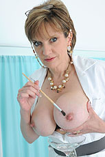 Stunning milf nurse from Lady Sonia