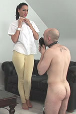 Cum milking mistress from Lady Sonia