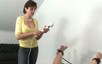 Bondaged orgasm from Lady Sonia