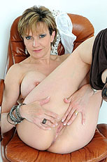Leggings milf strips from Lady Sonia