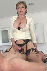 Milf seduces boy from Lady Sonia