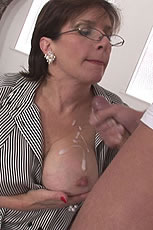Cum milking milf from Lady Sonia