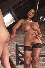 Naked ebony domina from Lady Sonia