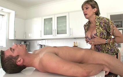 Milf and young cock from Lady Sonia