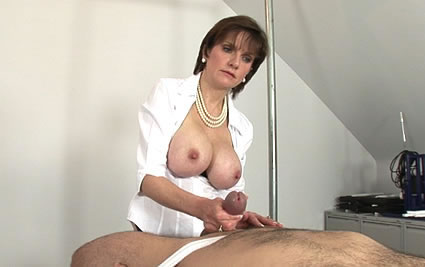 Dominatrix tit fuck from Lady Sonia