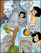 Mowgli\'s sex adventures cartoons! from Drawn Sex