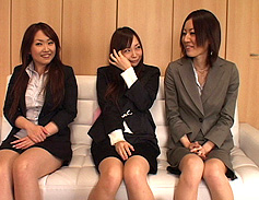 Three cum-thirsty Asian whores from Kobe Surprise