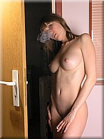 Cutie smoking at the door from SmokingBunnies