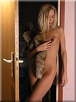 Smoking girl with fur from SmokingBunnies