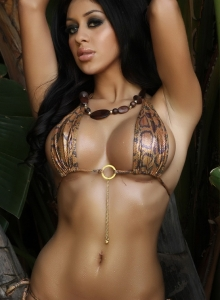Alluring Vixen Joselyn shows off her perfect body from Alluring Vixens