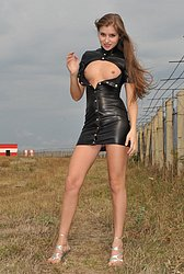 Eroberlin-Viva-russian-teen-airport-naked-outdoor from Ero Berlin