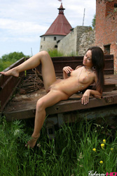 Fedorov-hd-Debi-fortress-outdoor-young-girl-shaved-wet-pussy from Fedorovhd