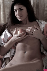 Fedorov-hd-Melissa-teahouse-black-long-hair-cutie-fingering from Fedorovhd