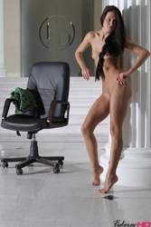 Fedorov-hd-Maria-chair-fabulous-hot-girl-long-dark-hair-russian- from Fedorovhd