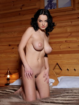Spend a romantic getaway in a private mountain cabin from Erotic Beauty