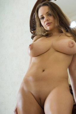 Any and her large, puff breasts take the centerstage from Erotic Beauty
