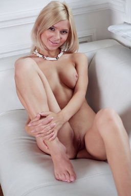 Sweet and petite Paloma with a naughty smile in her cute face from Erotic Beauty