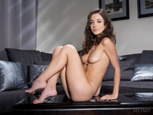 Beautiful brunette and her tight pussy from Met-Art