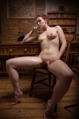 Fawna's body shows off her oiled body from The Life Erotic