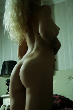 Her svelte, slender figure, blonde hair, blue eyes, and sultry from The Life Erotic